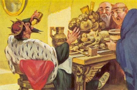 Thần Dionysos và tên vua Midas tham vàng