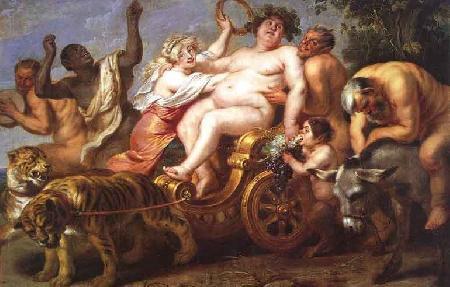 Thần rượu nho Dionysos