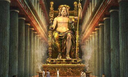 Thế giới Olympe và mười hai vị thần tối cao