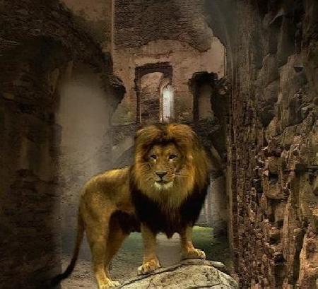 Giết con sư tử ở Némée