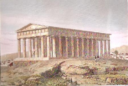 Thésée trên đường tới Athènes