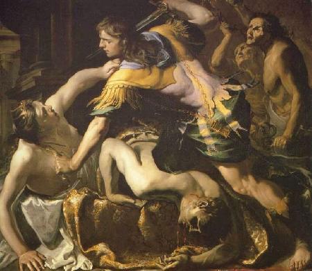 Tội ác và sự thù hằn giữa hai anh em Atrée và Thyeste