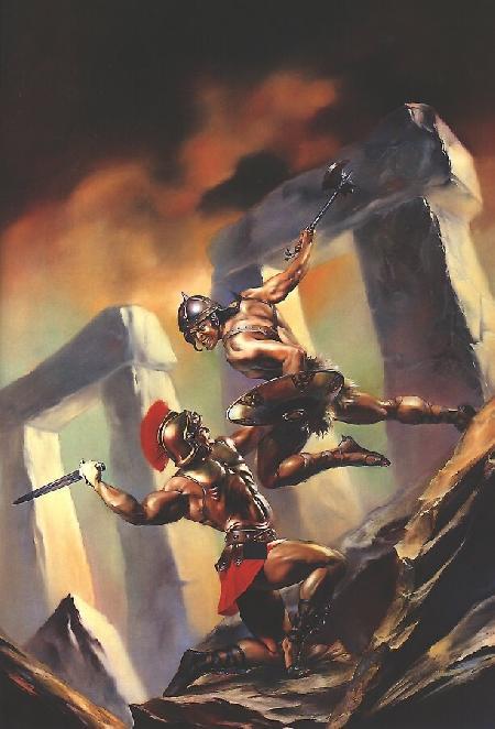 Achille giết chết chủ tướng Memnon cầm đầu đạo quân Éthiopie
