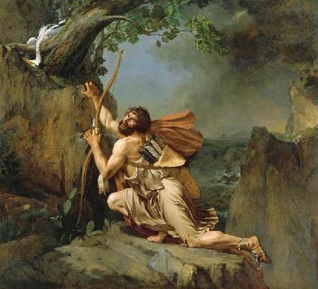 Chiến công của Ulysse. Philoctète tham chiến