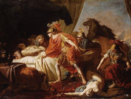 Chuyện về Agamemnon và người con trai, Oreste