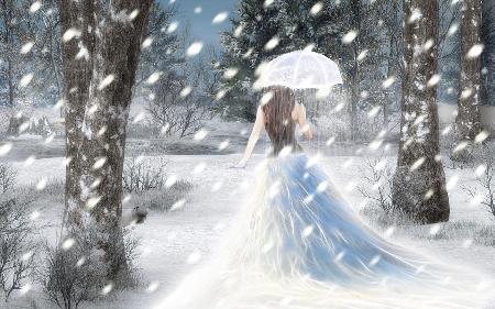 Cô gái tuyết