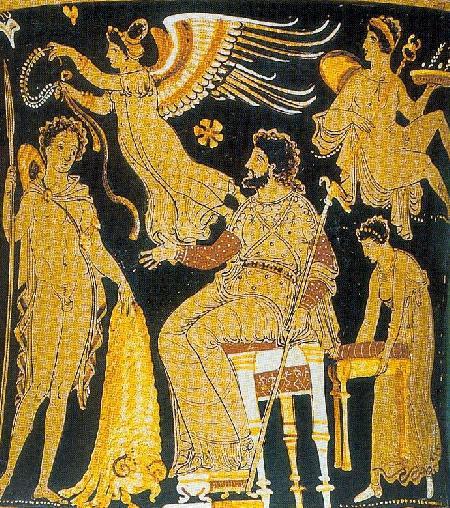 Jason đến gặp vua Aiétès