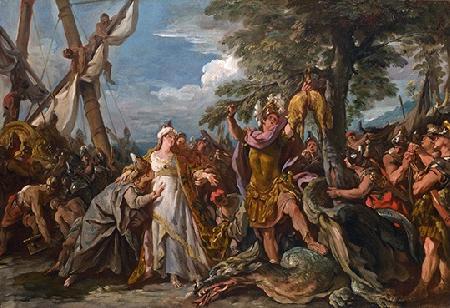 Médée giúp Jason đoạt Bộ lông Cừu vàng