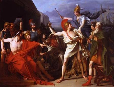 Mối bất hòa giữa chủ tướng Agamemnon với Achille