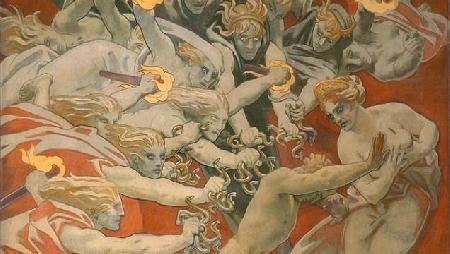 Oreste thoát khỏi sự trừng phạt của những nữ thần Érinyes