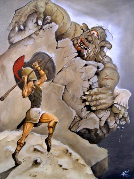 Thoát khỏi hang tên khổng lồ Polyphème ăn thịt người