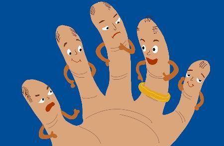 Câu chuyện của những ngón tay