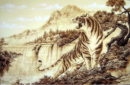 Con Hổ và con Ngựa