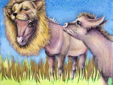 Lừa lại đội lốt sư tử