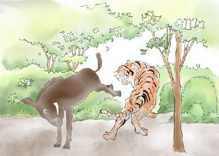 Lừa và Hổ