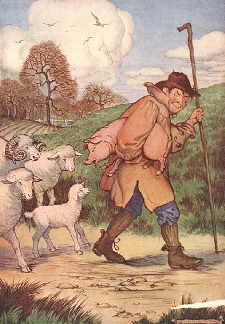 Cừu và Heo