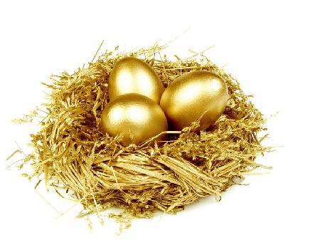 Gà mái và những quả trứng vàng
