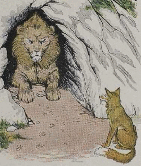 Sư tử và cáo