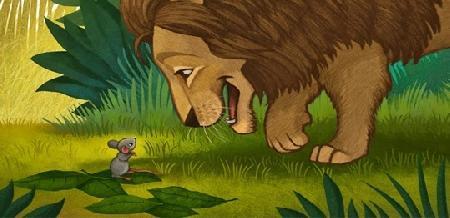 Sư tử và chuột