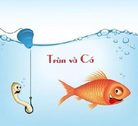 Trùn và cá