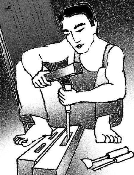 Lạt Ma và người thợ mộc