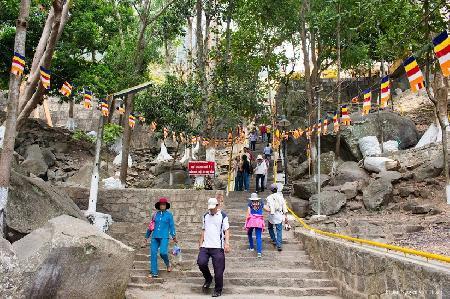 Tích Bà Đen ở núi Tây Ninh