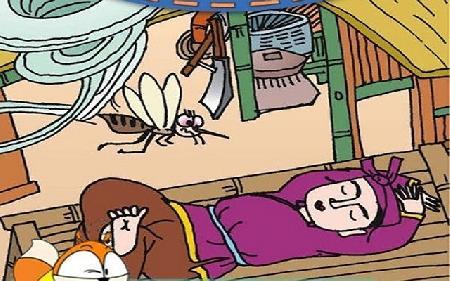 Cô gái nhà giàu hóa thành con muỗi