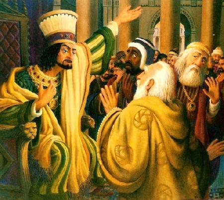 Nhà vua và ba bậc hiền triết - P4