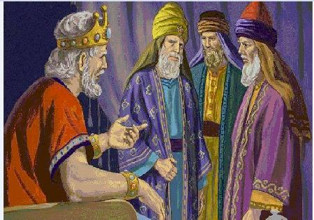 Nhà vua và ba bậc hiền triết - P3