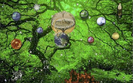 Cây thế giới Yggdrasil