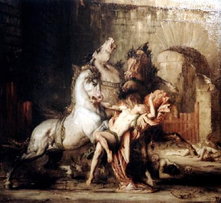 Abderus người bạn của Heracles