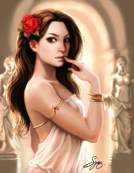 Hoa hồng đỏ hay thần thoại mối tình nàng Aphrodite