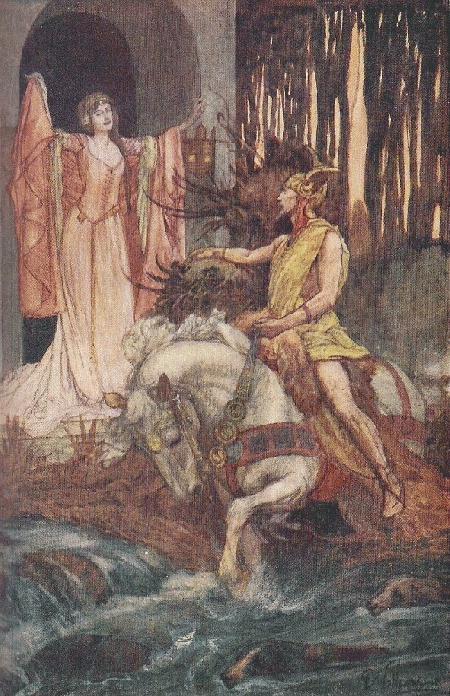 Math và Gwydion - câu chuyện thứ tư trong chuỗi Mabinogi