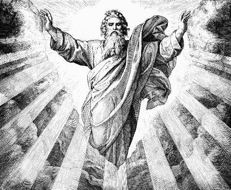 Dievas vị thần nguyên thủy tối cao