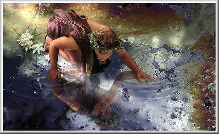 Echo và Narcissus hay sự tích hoa thủy tiên