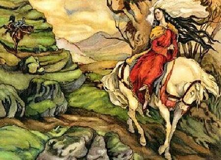 Pwyll và Rhiannon - truyện Mabinogi đầu tiên