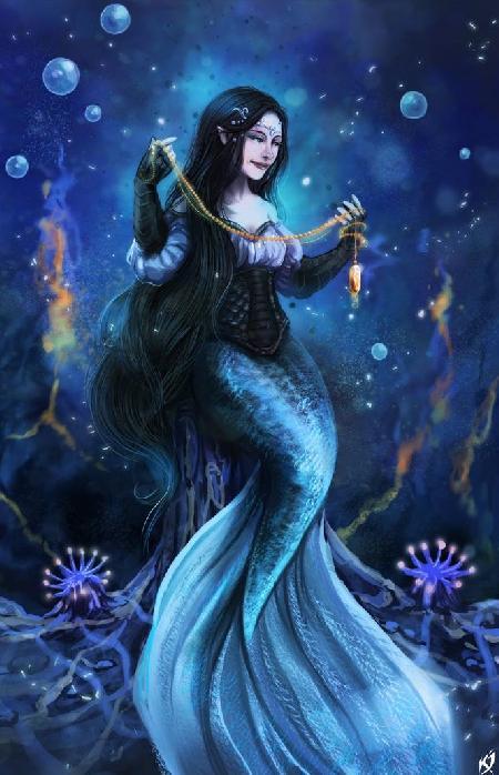 Mối tình của nữ thần biển cả Jurate