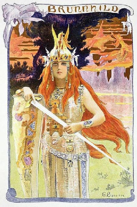 Nữ chiến binh Valkyrie Brynhildr