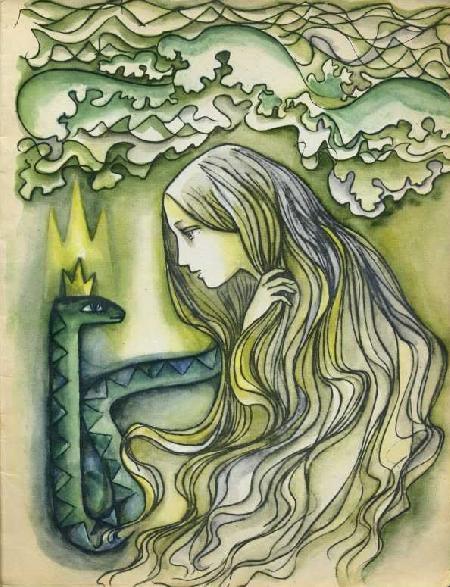 Nữ hoàng rắn biển Egle