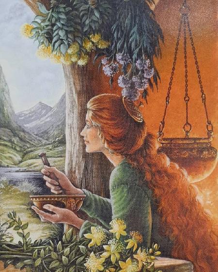 Nữ thần Airmid - nữ thần bảo hộ cho nghề chữa bệnh cứu người
