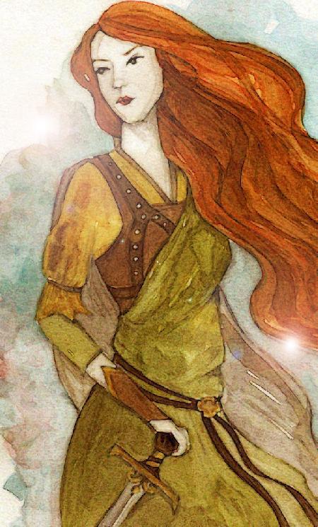 Nữ chiến binh huyền thoại Scathach