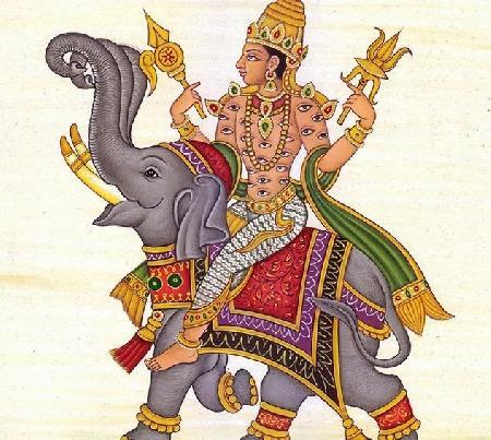Indra bị đạo sĩ Gotama nguyền rủa