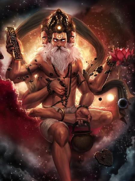 Đấng tạo hóa Brahma