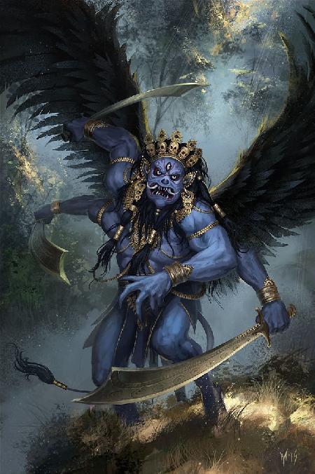 Quỷ la sát (Rakshasa) hay Thiết Phiến Công Chúa là Bà La Sát