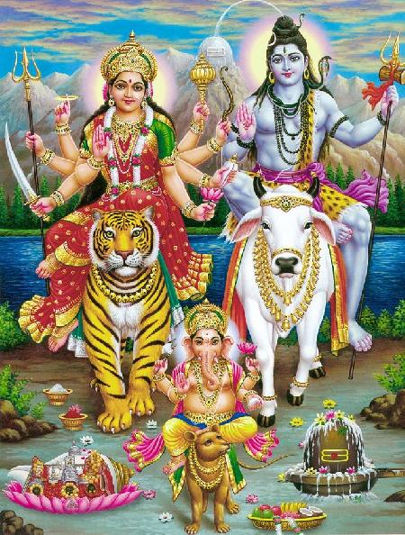 Parvati - nữ thần mang nguồn năng lượng sống