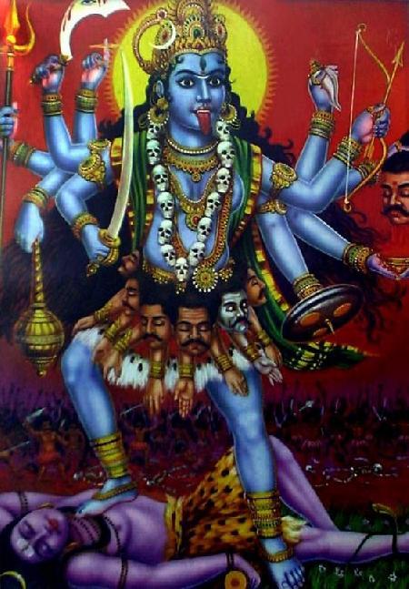 Thần hủy diệt Kali