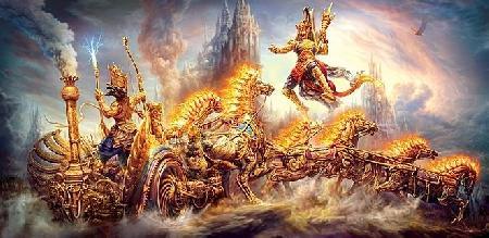 Thượng đế - ba ngôi - và các đấng thần linh