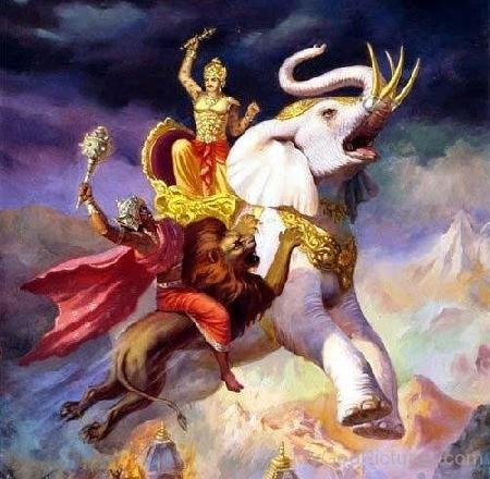 Vua trời Đế Thích Thiên - Indra