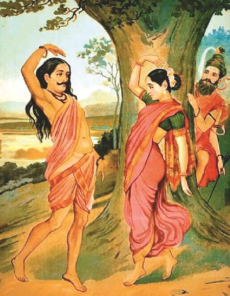 Bhasmasura chết vì nhảy múa với Mohini