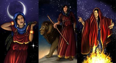 Ba người con gái của thánh Allah